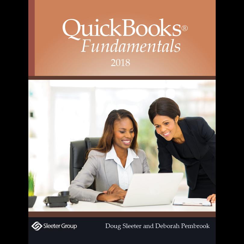 QuickBooks 2018 Fundamentals Textbook